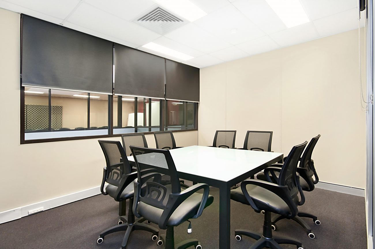 8 Seat Meeting Room for hire Townsville Business Centre